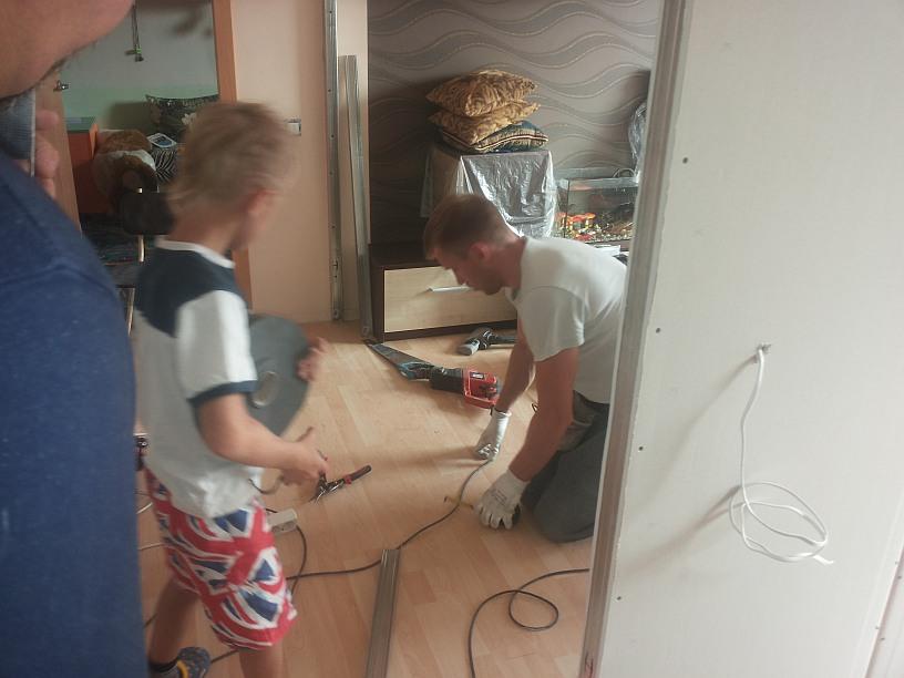 kambario-statybos