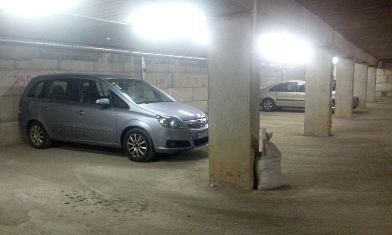 požeminis garažas Perkūnkiemyje